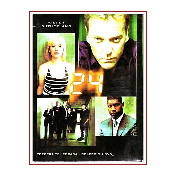 24 TERCERA TEMPORADA COLECCIÓN DVD