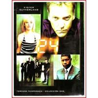 24 TERCERA TEMPORADA COLECCIÓN DVD 2003 SERIE TV