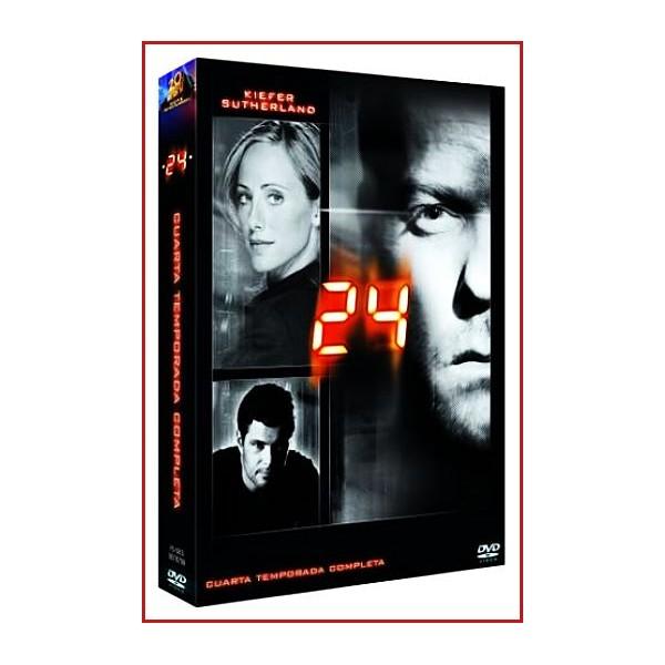 24 CUARTA TEMPORADA COLECCIÓN DVD SERIE TV