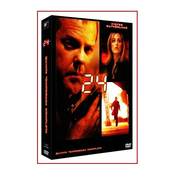24 QUINTA TEMPORADA COLECCIÓN DVD 2006 SERIE TV