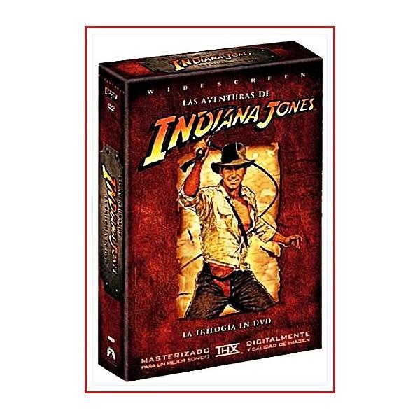 LAS AVENTURAS DE INDIANA JONES LA TRILOGÍA EN DVD 2003