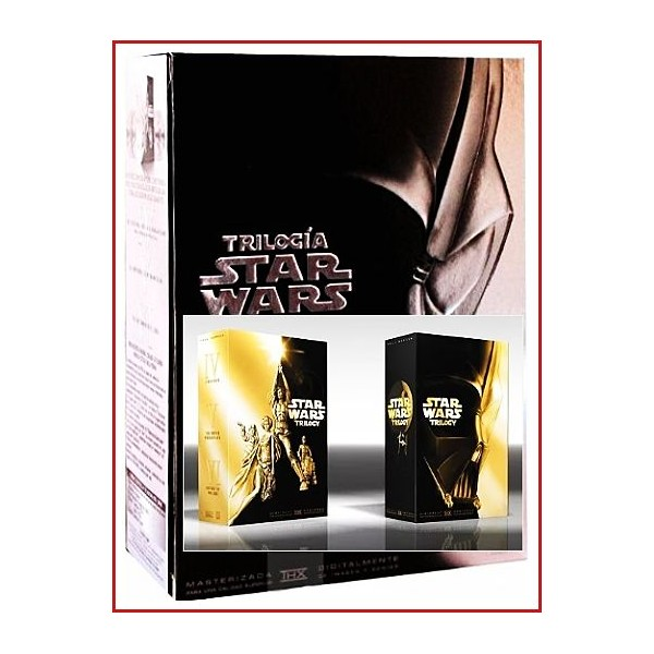 STAR WARS TRILOGÍA PACK IMPRESCINDIBLE DVD DE COLECCIONISTA 4 DISCOS