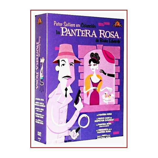 LA PANTERA ROSA PACK DE COLECCIONISTA 6 DISCOS DVD EDICION 2003