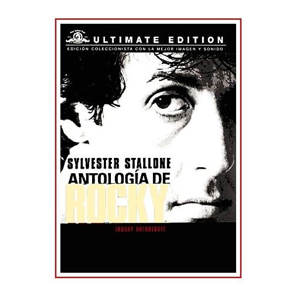 ROCKY PACK COMPLETO DE 6 DVD 2015 ANTOLOGÍA DE COLECCIÓN
