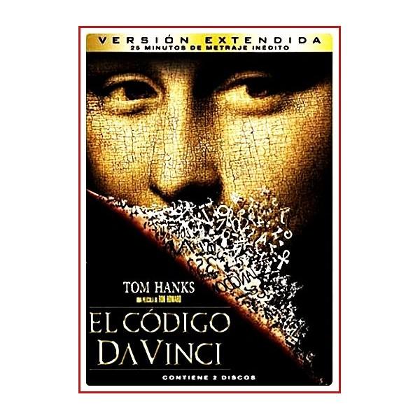 EL CODIGO DA VINCI VERSIÓN EXTENDIDA DOS DISCOS 2011 ESTUCHE METALICO Dir. Ron Howard