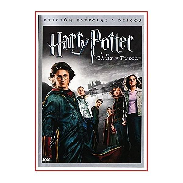 HARRY POTTER Y EL CÁLIZ DE FUEGO EDICIÓN ESPECIAL DOS DISCOS DVD 2005
