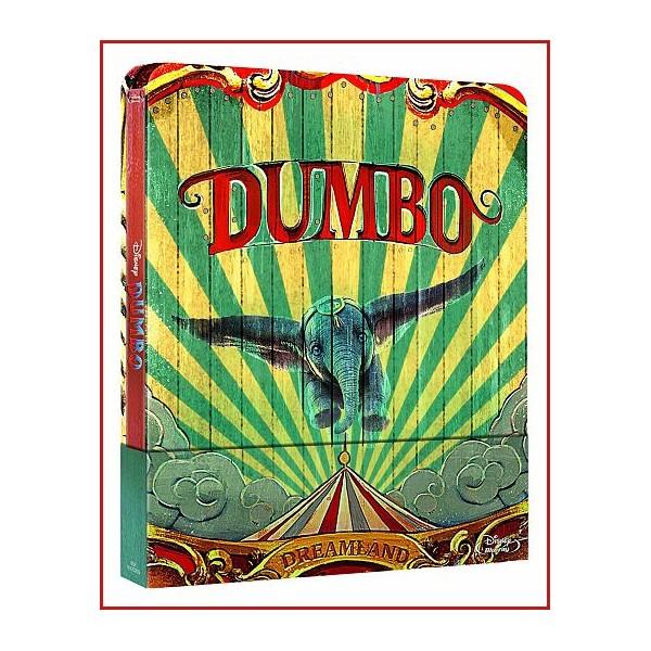 DUMBO EDICIÓN LIMITADA BLU RAY 2019 ESTUCHE METALICO Dir. Tim Burton