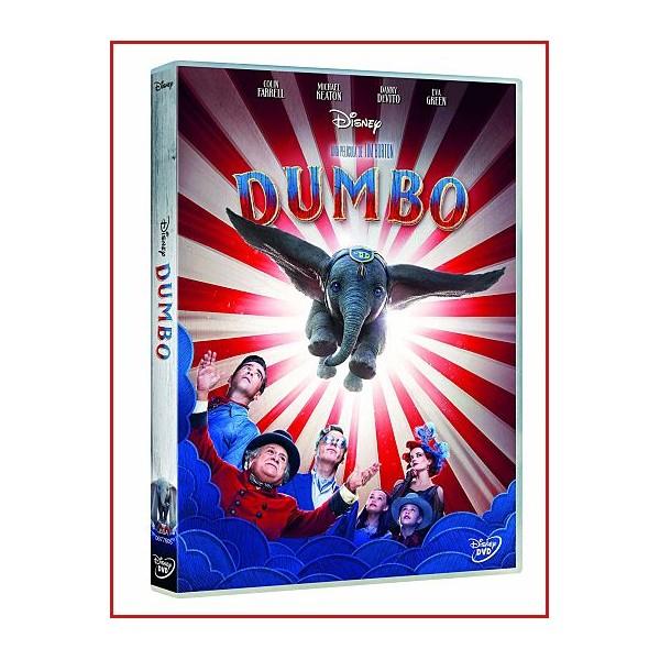 DUMBO EDICIÓN LIMITADA DVD 2019 Dirección Tim Burton