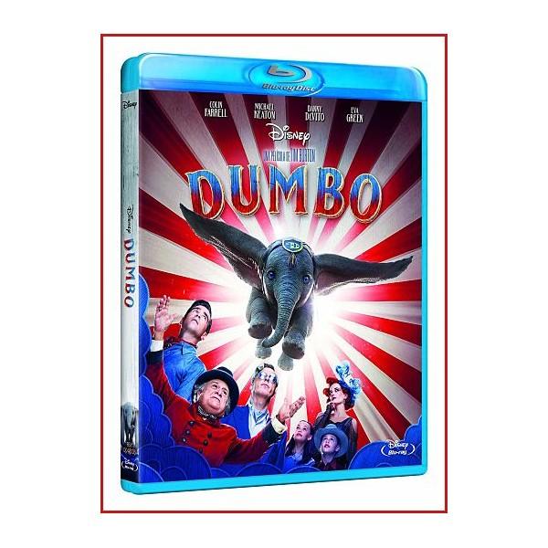 DUMBO EDICIÓN ESTANDAR BLU RAY 2019 Dirección Tim Burton