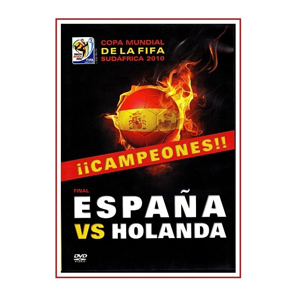 ESPAÑA VS HOLANDA DVD 2010 Documental Estuche Slim