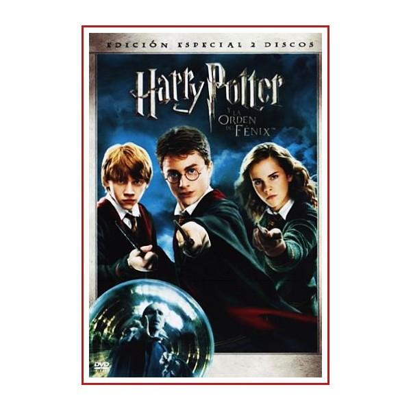 HARRY POTTER Y LA ORDEN DEL FÉNIX EDICIÓN ESPECIAL 2 DISCOS DVD 2007