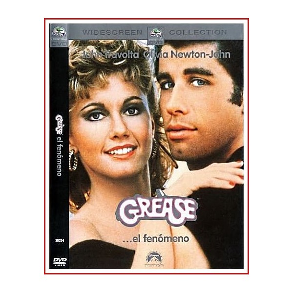 GREASE (Brillantina) DVD 1978 Dirigida por Randal Kleiser
