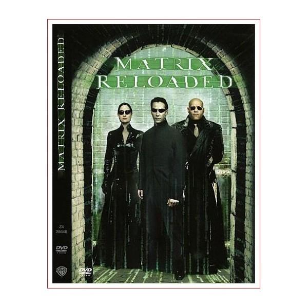 MATRIX RELOADED DVD 2003 Dirección Lilly Wachowski, Lana Wachowski