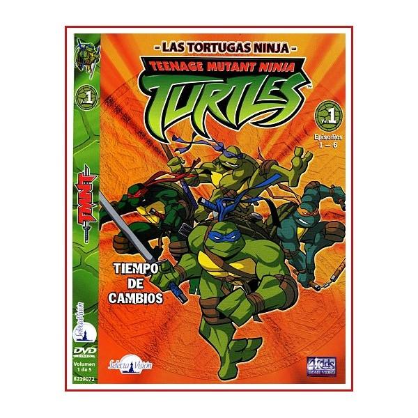 LAS TORTUGAS NINJA 6 EPISODIOS DVD 2007