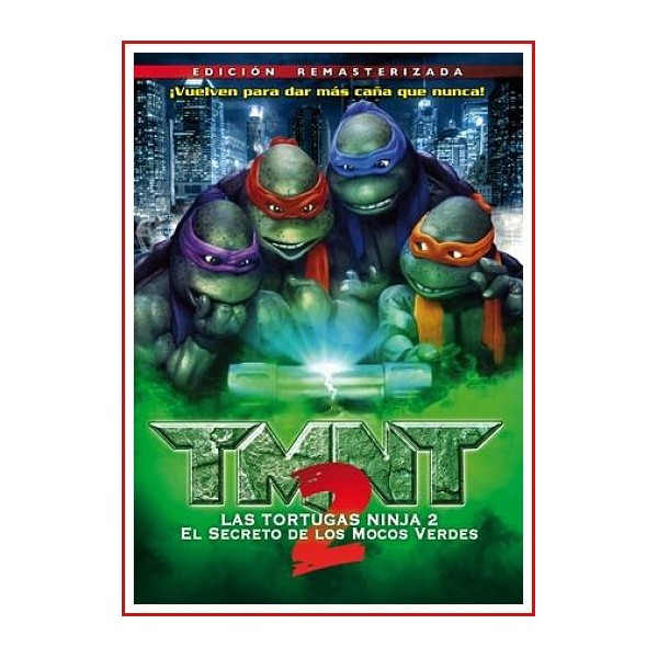 TORTUGAS NINJA 2 DVD