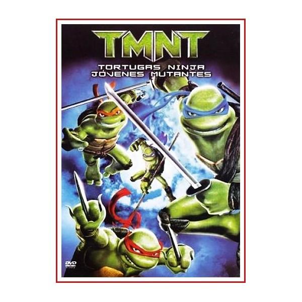 TORTUGAS NINJA JÓVENES MUTANTES TMNT DVD