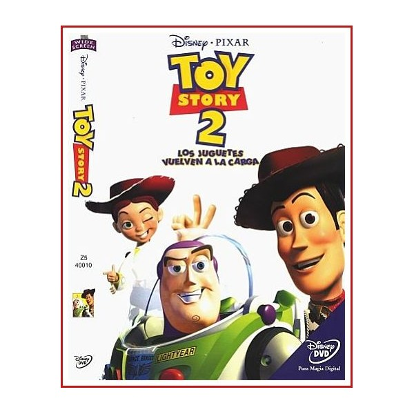 TOY STORY 2 DVD 1999 Dirección John Lasseter, Ash Brannon, Lee Unkrich