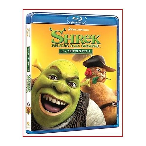 SHREK FELICES PARA SIEMPRE DVD 2010 Dirección Mike Mitchell