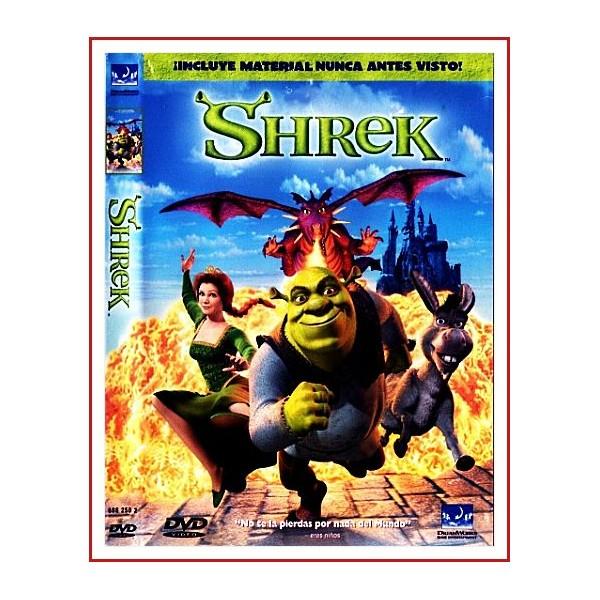 SHREK DVD 2001 Dirección Andrew Adamson-Vicky Jenson