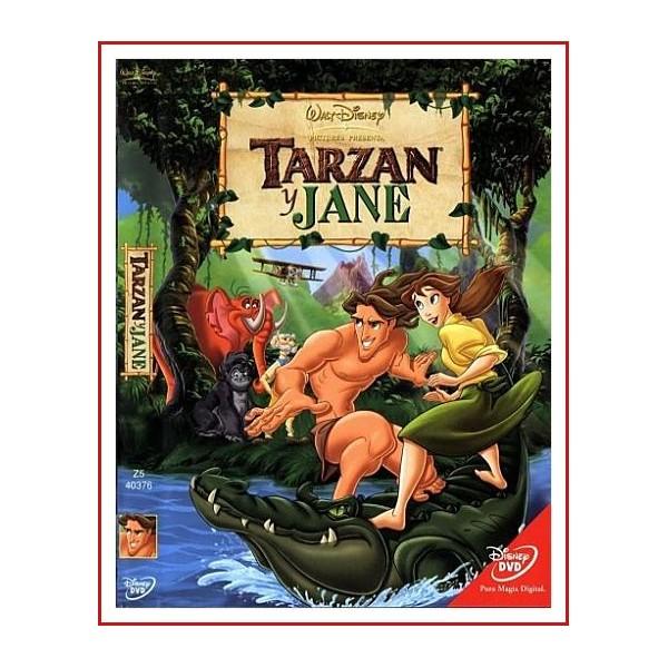 TARZAN Y JANE DVD