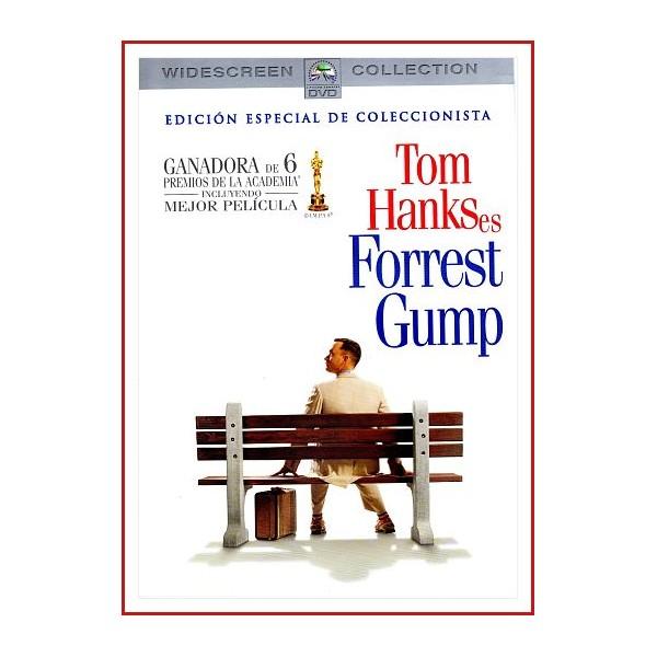 FORREST GUMP EDICIÓN ESPECIAL DOS DISCOS DVD 1994 Dir. Robert Zemeckis