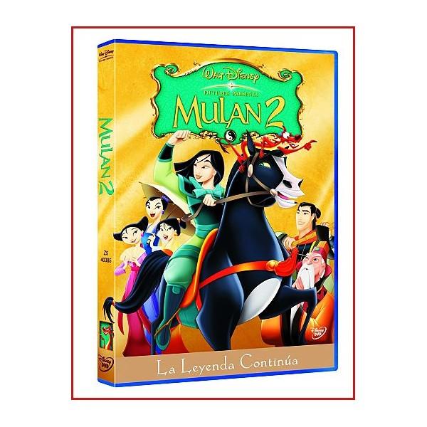 MULAN 2 DVD 2004 Dirección Darrell Rooney-Lynne Southerland