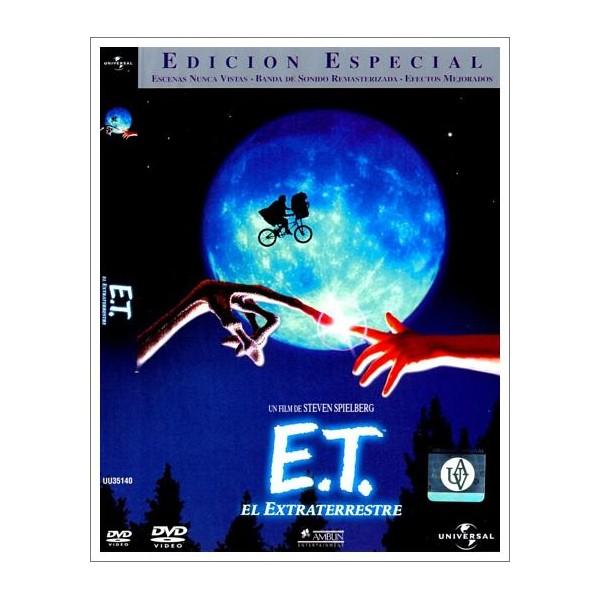 E.T. EL EXTRATERRESTRE ED DOS DISCOS DVD1982 Dirección Steven Spielberg