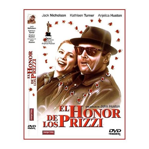 EL HONOR DE LOS PRIZZI DVD 1995 Dirección John Huston