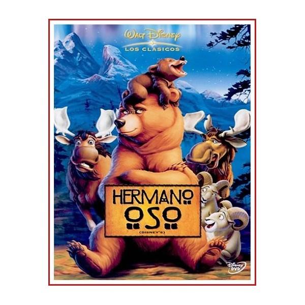 HERMANO OSO DVD Dirigida por Aaron Blaise-Bob Walker