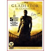 GLADIATOR (EL GLADIADOR) E.E. 2 DISCOS DVD 2000 Dirección Ridley Scott