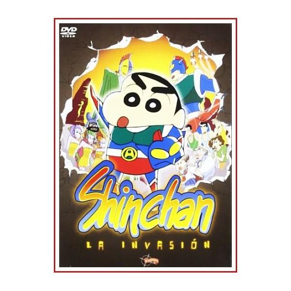 SHIN CHAN LA INVASION DVD 1993 Dirección Mitsuru Hongo