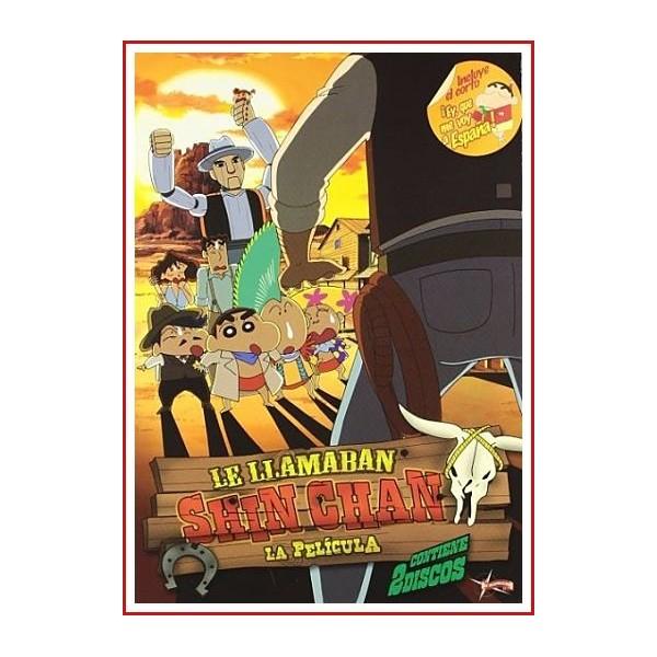 LE LLAMABAN SHIN CHAN DVD 2004 Dirigida por Tsutomu Mizushima