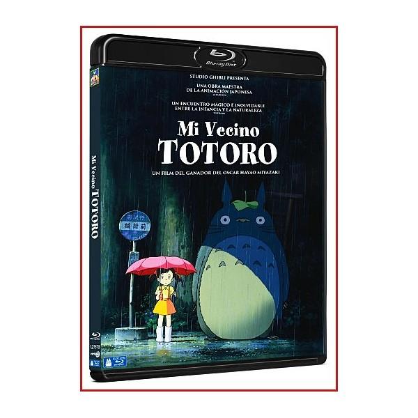 MI VECINO TOTORO BLU RAY 1988 Directores: Hayao Miyazaki