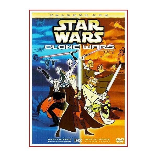 STAR WARS CLONE WARS VOLUMEN UNO