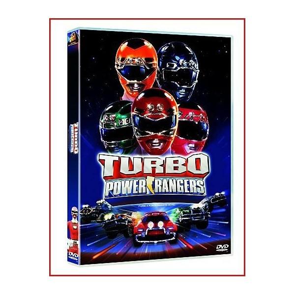 TURBO POWER RANGERS DVD 1997 Dirigida por David Winning, Shuki Levy