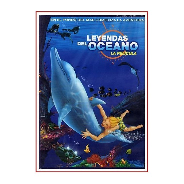 LEYENDAS DEL OCÉANO LA PELÍCULA (The Undersea World of Jacques Cousteau)