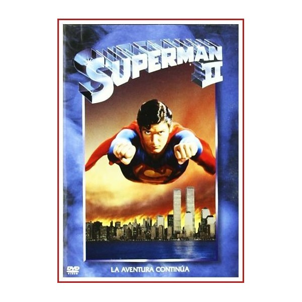 SUPERMAN II DVD 1980 Superhéroes-Cómic. DC Comics