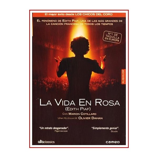 LA VIDA EN ROSA DVD 2007 Dirección Olivier Dahan