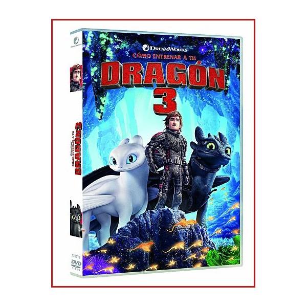 COMO ENTRENAR A TU DRAGÓN 3 DVD 2019 Dirigida por Dean DeBlois