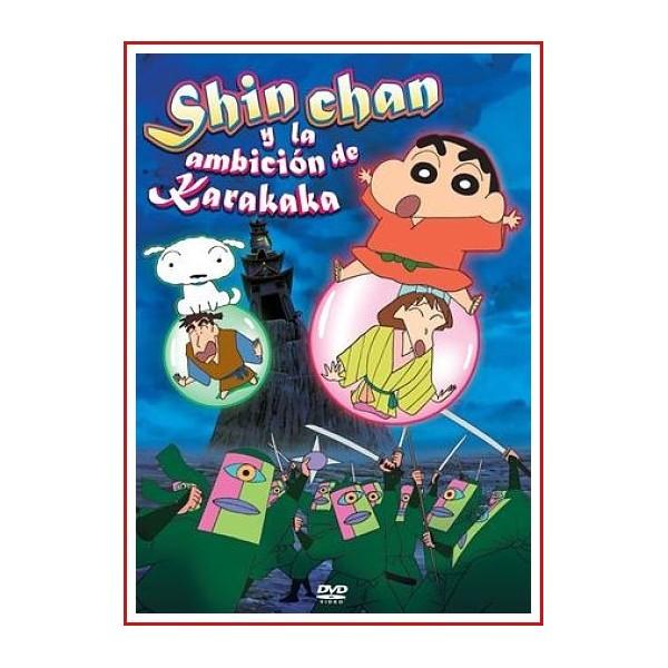 SHIN CHAN Y LA AMBICION DE KARAKAKA