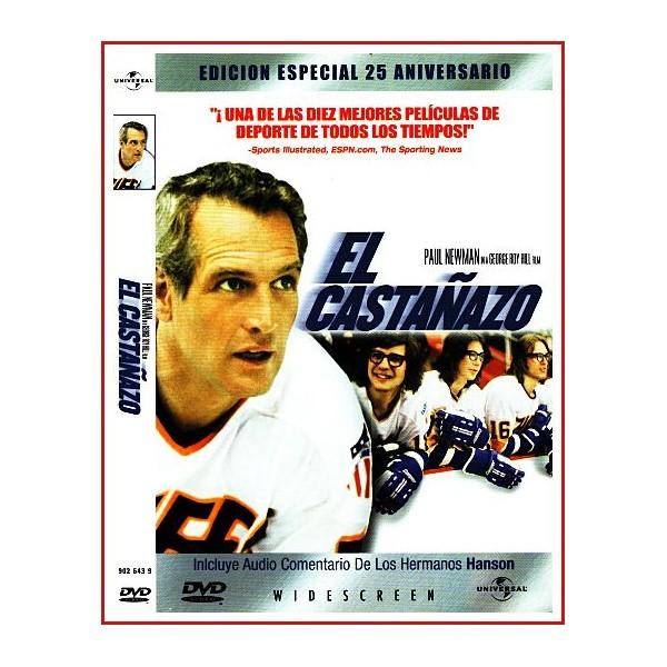 EL CASTAÑAZO DVD 1977 Deporte-Hockey sobre hielo Dir. George Roy Hill
