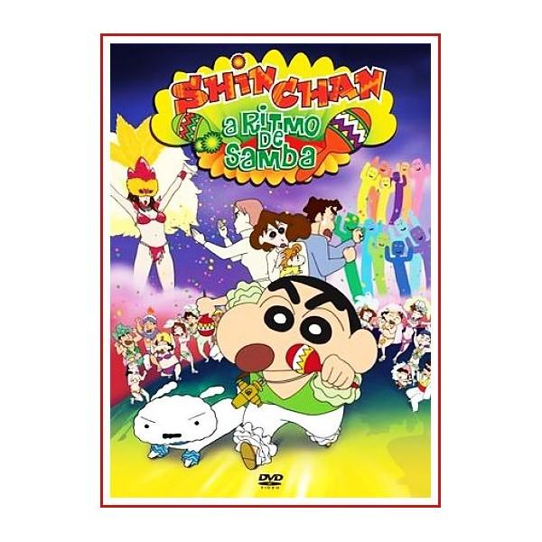 SHIN CHAN A RITMO DE SAMBA DVD 2006 Dirección Yûji Mutou