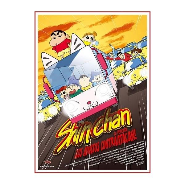 SHIN CHAN LOS ADULTOS CONTRAATACAN DVD 2001 Dirección Tsutomu Mizushima