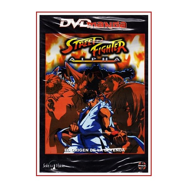 STREET FIGHTER EL ORIGEN DE LA LEYENDA DVD MANGA