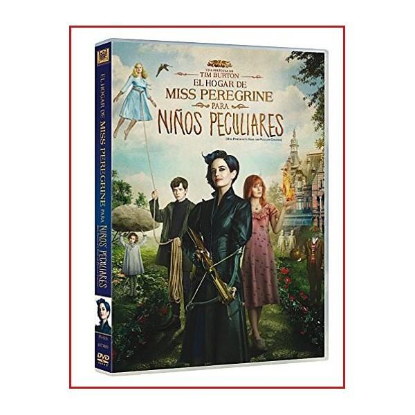 EL HOGAR DE MISS PEREGRINE PARA NIÑOS PECULIARES DVD 2016