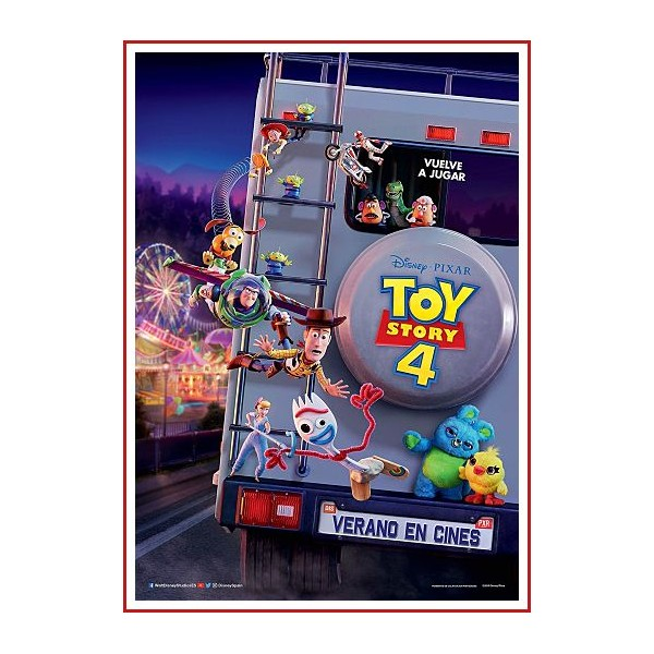TOY STORY 4 BLU RAY 2019 Dirigida por Josh Cooley