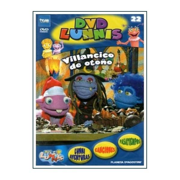 LOS LUNNIS VILLANCICO DE OTOÑO DVD PREESCOLAR CINE ESPAÑOL TV
