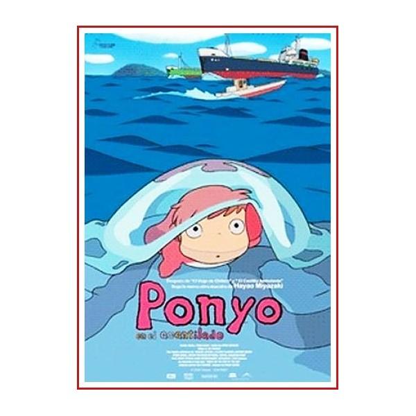 PONYO EN EL ACANTILADO DVD MANGA 2008 Dirección Hayao Miyazaki