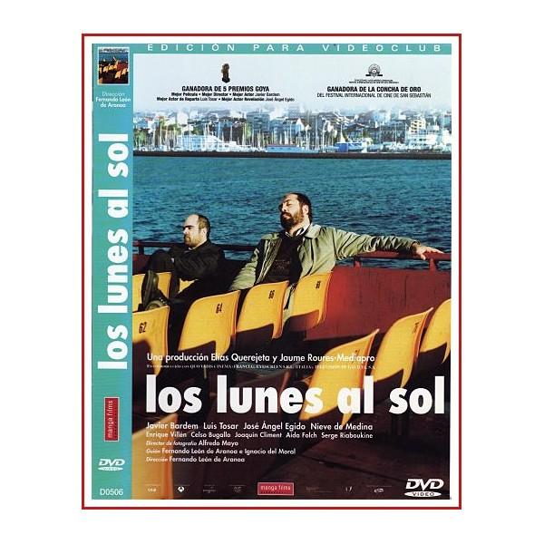 CARATULA ORIGINAL LOS LUNES AL SOL DVD