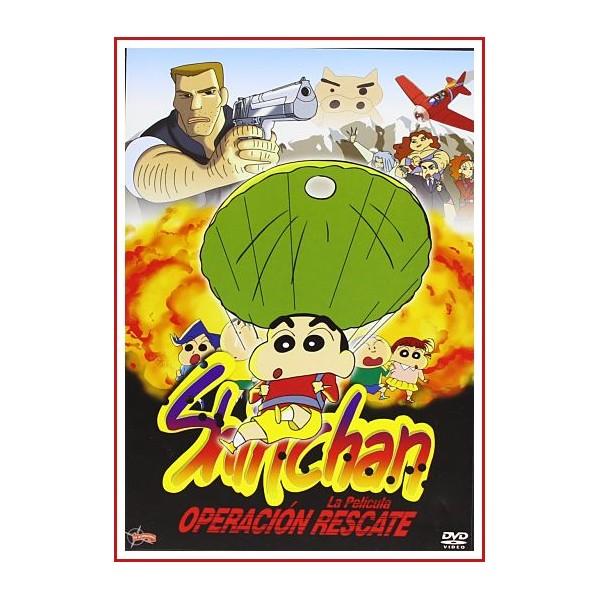 SHIN CHAN OPERACION RESCATE DVD